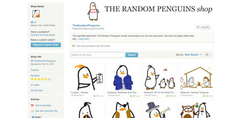 2013 Holiday Gift Guide: The Random Penguins