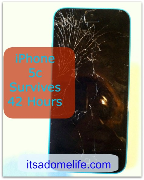 iPhone 5c Survives 42 Hours