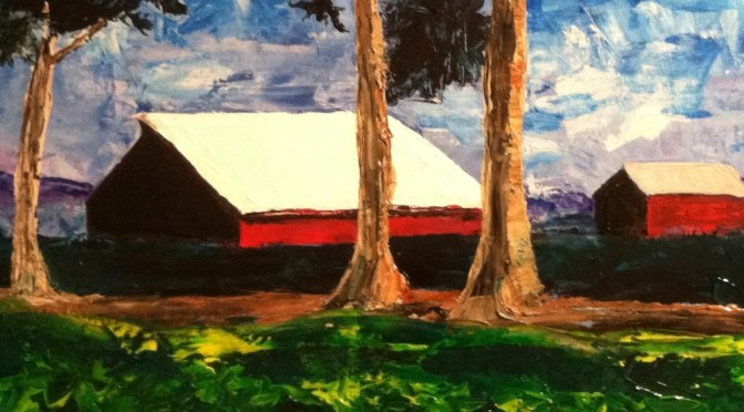 Red Barn Outside of Castroville, CA – Landscape Day 8