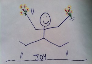 Stickman Challenge Day 1: Joy