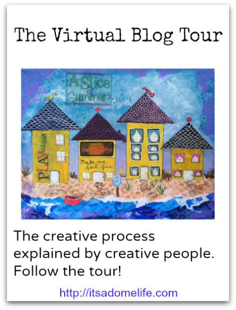 The Virtual blog Tour: Visiting Dome Life Studios