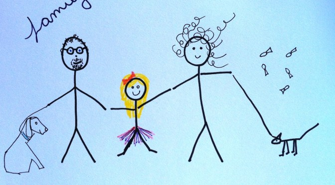 Stickman Drawing Challenge Day 9: Family