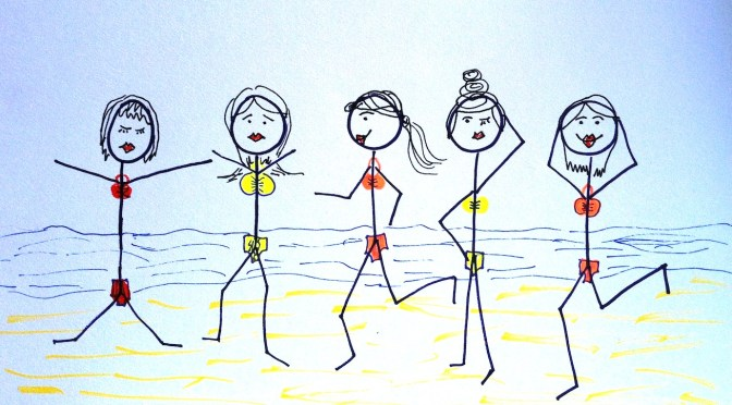 Stickman Drawing Challenge Day 10: At The Beach
