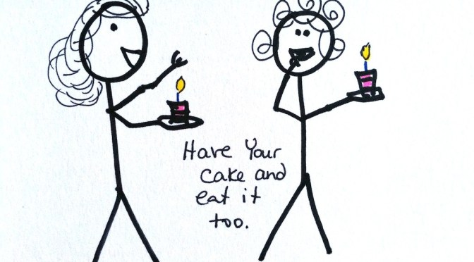 Stickman Drawing Challenge Day 28: Eating