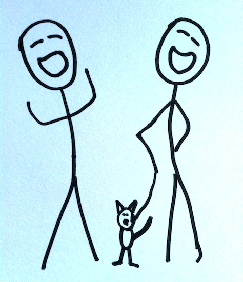 Stickman Drawing Challenge Day 25: Laughing