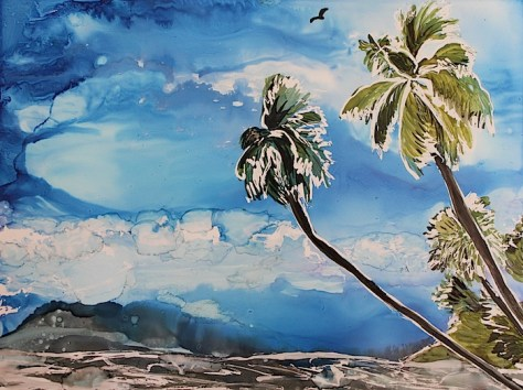 Island Paradise Day 30 of 30 Paintings In 30 Days