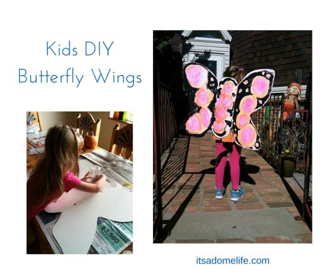 DIY Kids Butterfly Wings