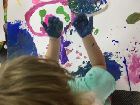 Making Messy Art With Kids