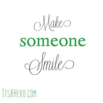 makesomeonesmile