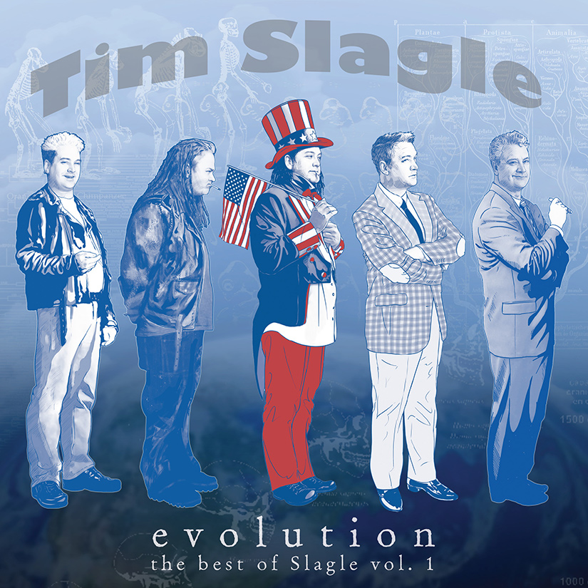 COMEDY NEWS: EVOLUTION: THE BEST OF TIM SLAGLE VOL. 1 FROM STAND UP! RECORDS IS OUT NOW