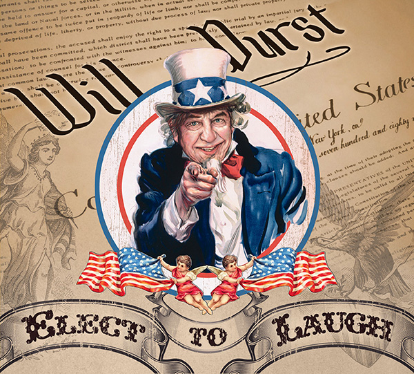 COMEDY NEWS: WILL DURST RELEASES 2ND COMEDY ALBUM FOR STAND UP! RECORDS