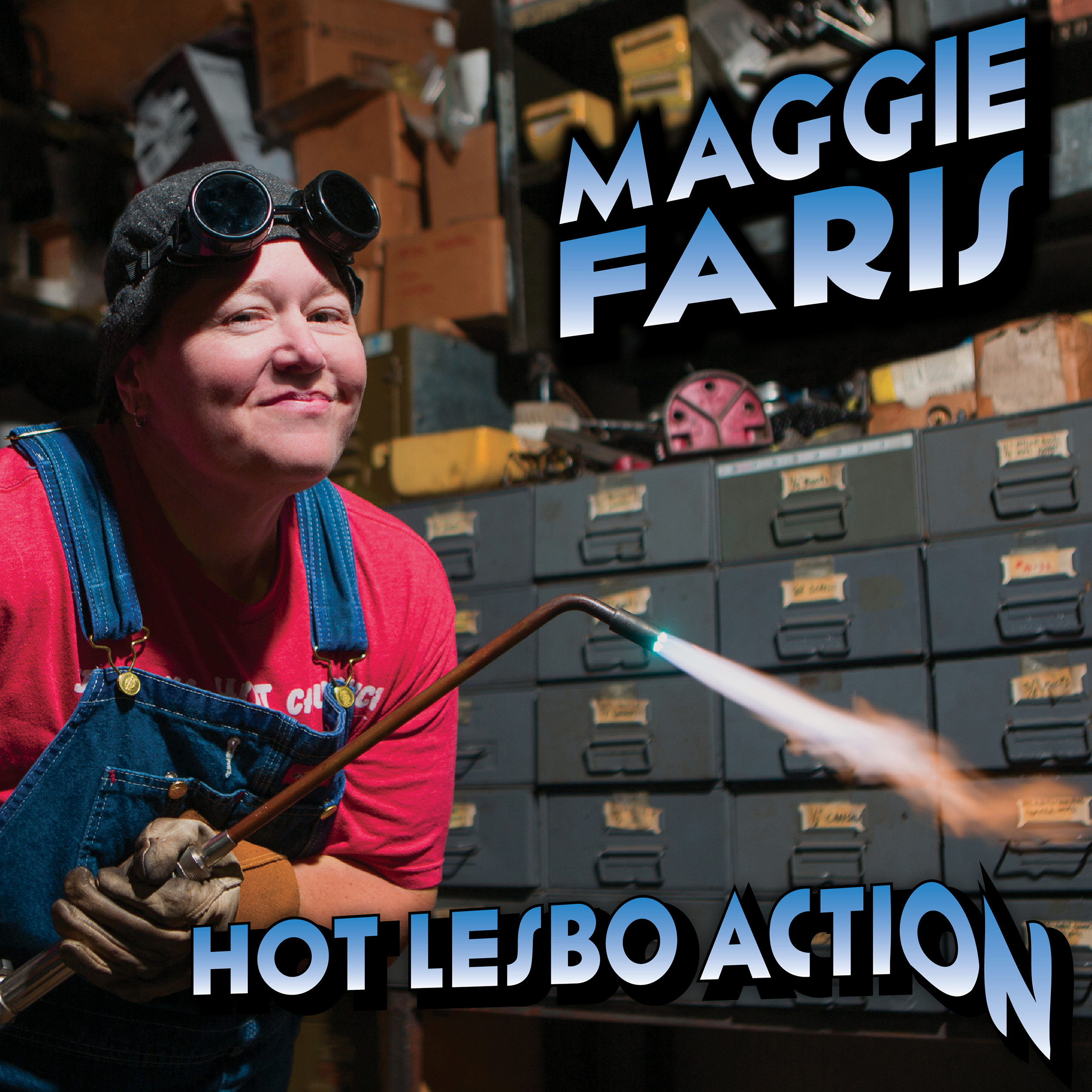 Comedy News: First Beyonce, then Maggie Faris. Hot Lesbo Action Out Today!