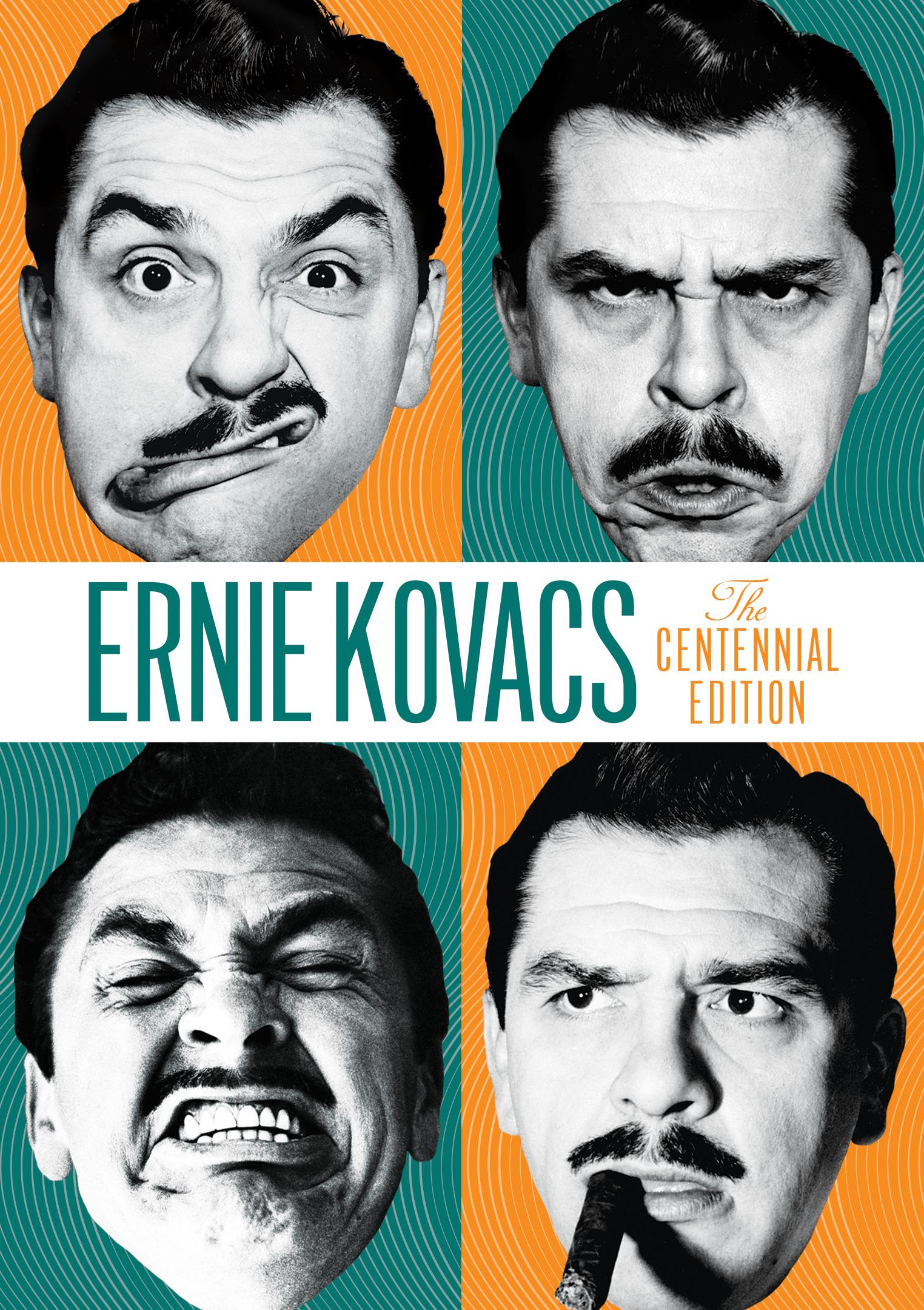 Ernie Kovacs Centennial News + New DVD Box Set and Ltd. Ed. Lithographs!