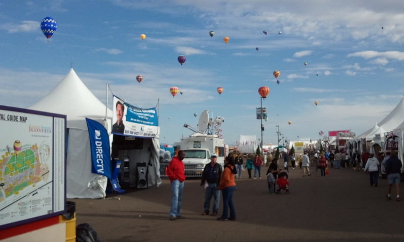 Its All about Satellites / DIRECTV at Albuquerque International Ballon Fiesta 2011