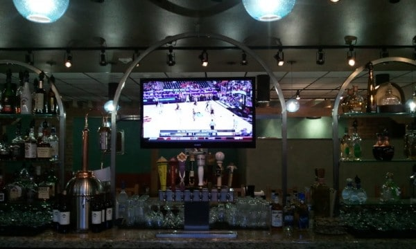 Los Quates Restaurant at the Albuquerque Sunport in the Bar