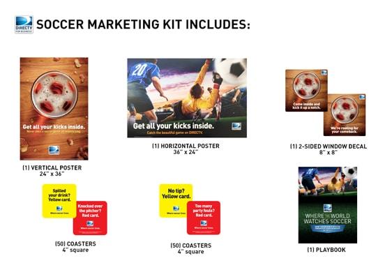 DIRECTV World Cup Soccer Promotional Kit - DIRECTVMVP.com