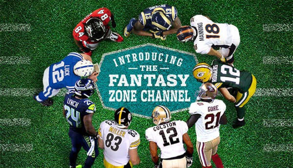 Introducing the Fantasy Zone Channel for NFL Sunday Ticket Only on DIRECTV