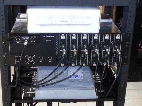 small resolution of 48 channel technicolor com2000 hd headend