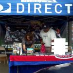 DIRECTV Booth at House of Football