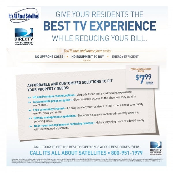 DIRECTV for Assisted Living, Nursing Homes and Long Term Care Facilities