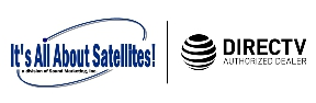Its All About Satellites DIRECTV Authorized Dealer Logo