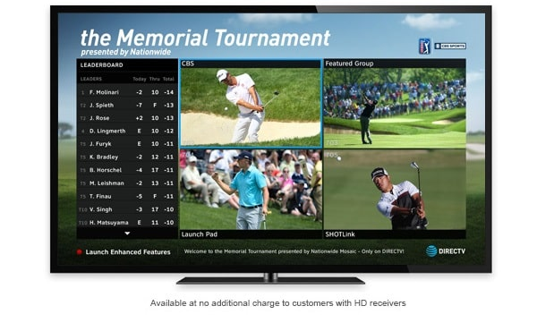 The Memorial Tournament Mix Channel Exclusively on DIRECTV