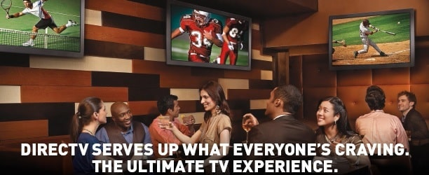 DIRECTV for Bars and Restaurants - Sports, Hockey, Baseball, Football, Basketball, NHL, NFL, NBA, ESPN College Extra, DIRECTV for Business