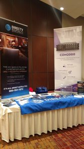 CHCA/CCAL 2017 Fall Conference - Its All About Satellites - DIRECTV Hospitality Solutions - TV for Assisted Living - TV for Healthcare - TV for Hotels