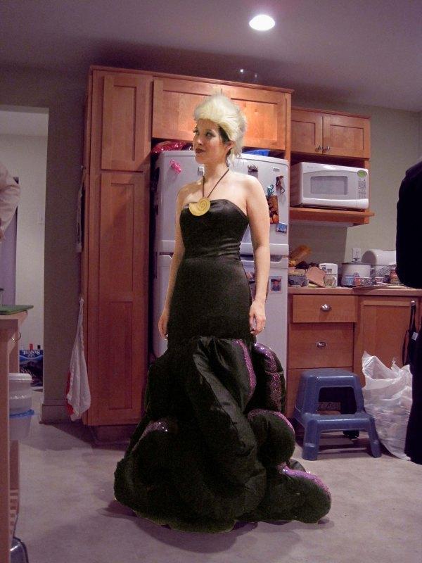 Vanessa Ursula Costume Part Idea And Gown
