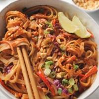 Creamy Pad Thai Noodles