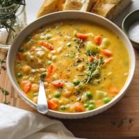 One-Pot Creamy Vegetable Soup