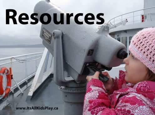 Parenting Resources - Child looking through viewfinder/binoculars
