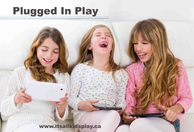plugged in play ideas for kids