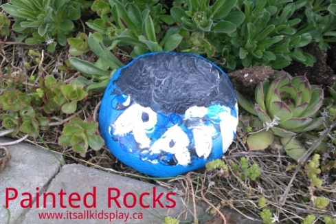 Painted Rocks Craft for Kids