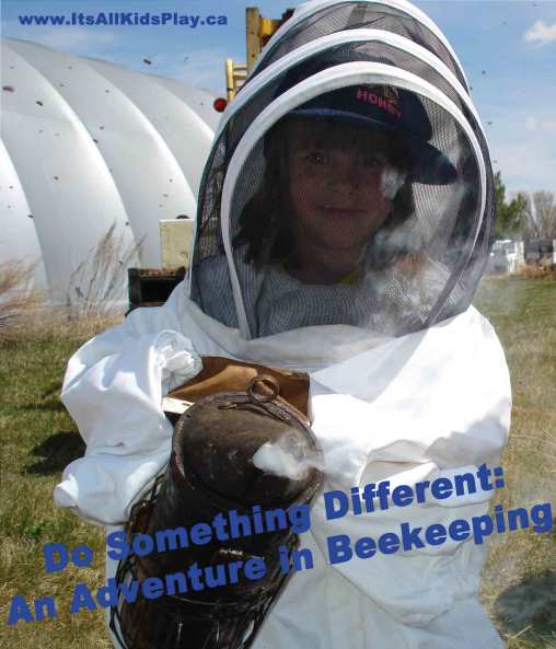 And now for something completely different: Beekeeping