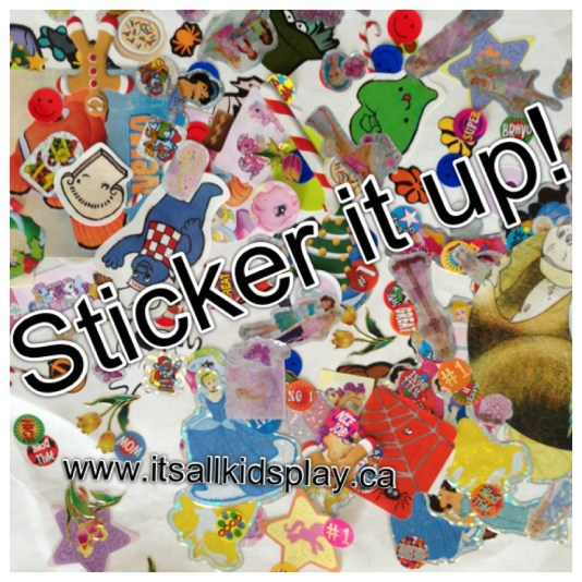 Sticker it up--stickers