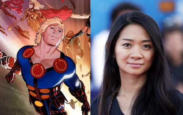 Eternals director Chloe Zhao says she was given complete creative freedom for the film