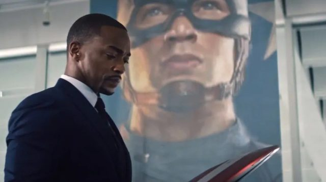 Anthony Mackie says a second season of the Falcon and the Winter Soldier hasn't been discussed
