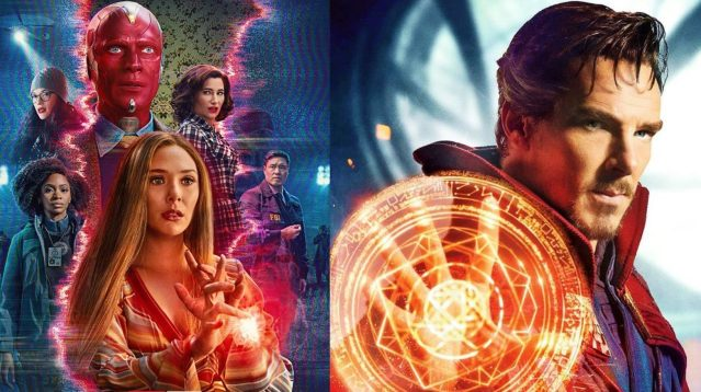 Marvel Studios head Kevin Feige reveals that Doctor Strange was originally going to appear in WandaVision
