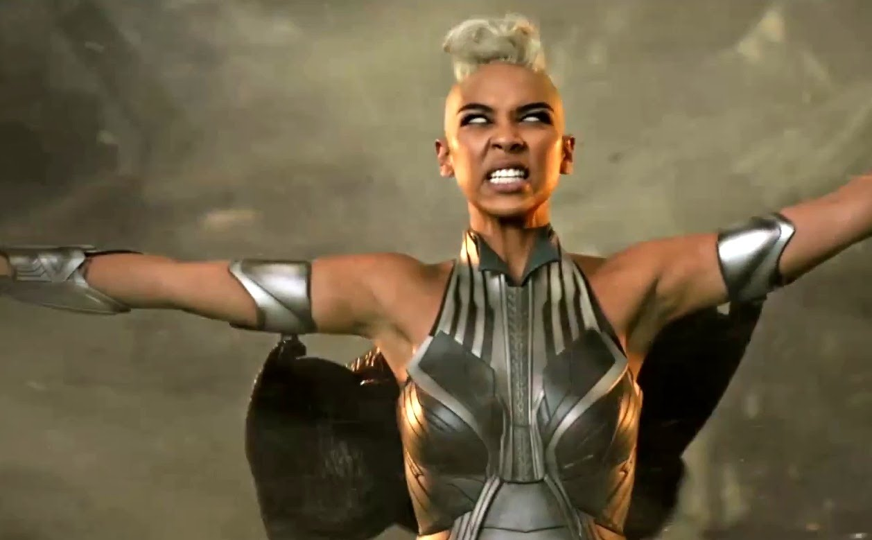 Storm Shows Off Her Powers In New Character Spot New Photos Released From X Men Apocalypse
