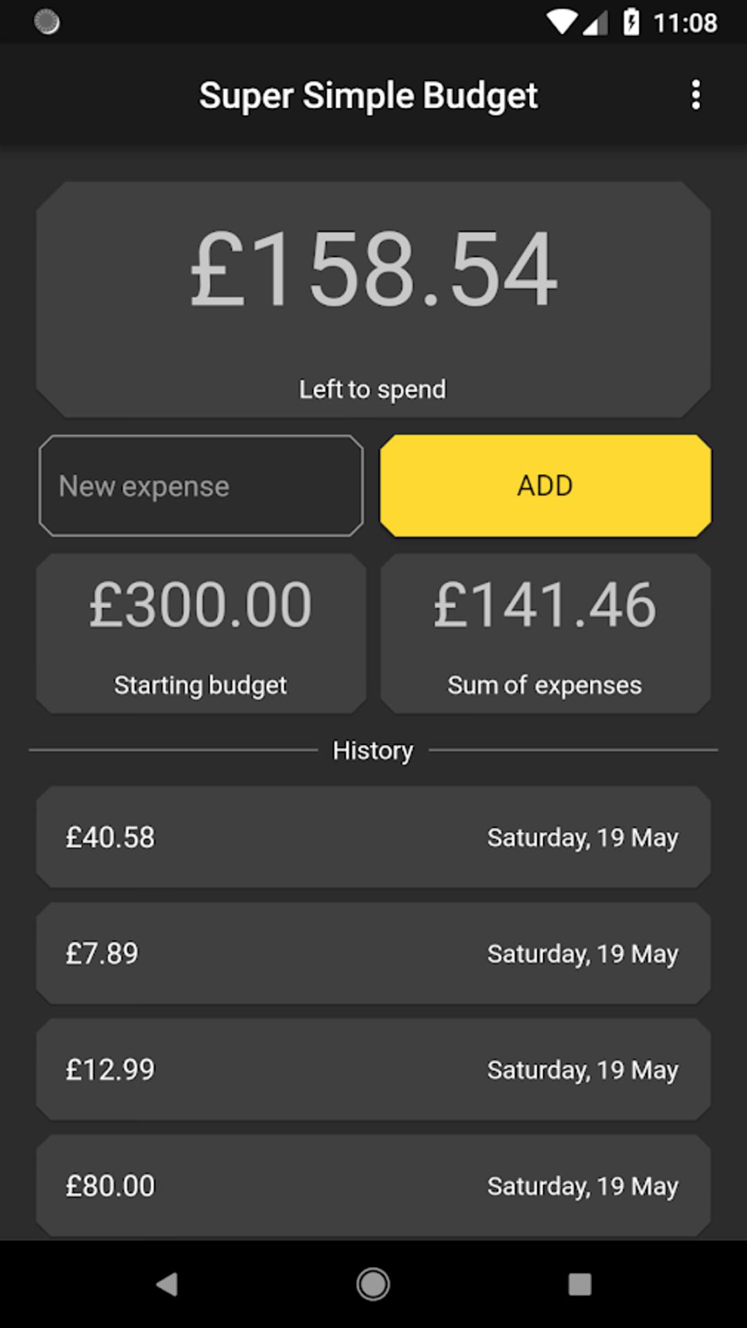 Super Simple Budget | It's All Widgets!