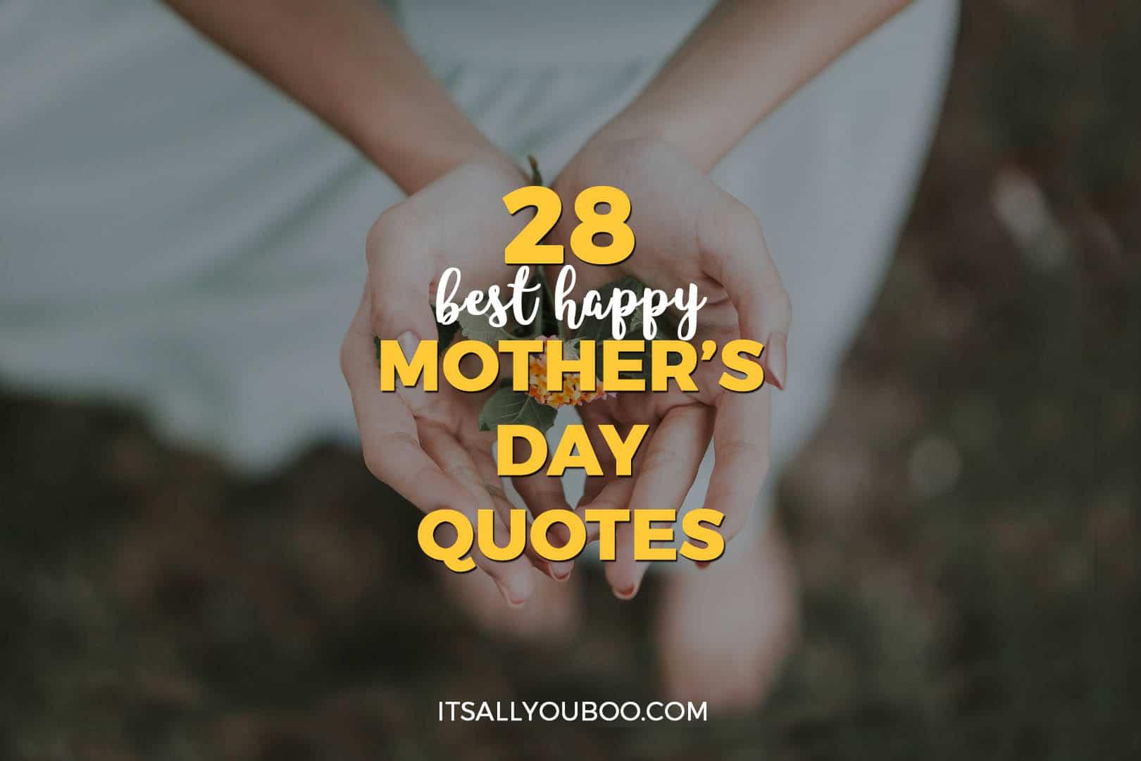 28 best happy mother