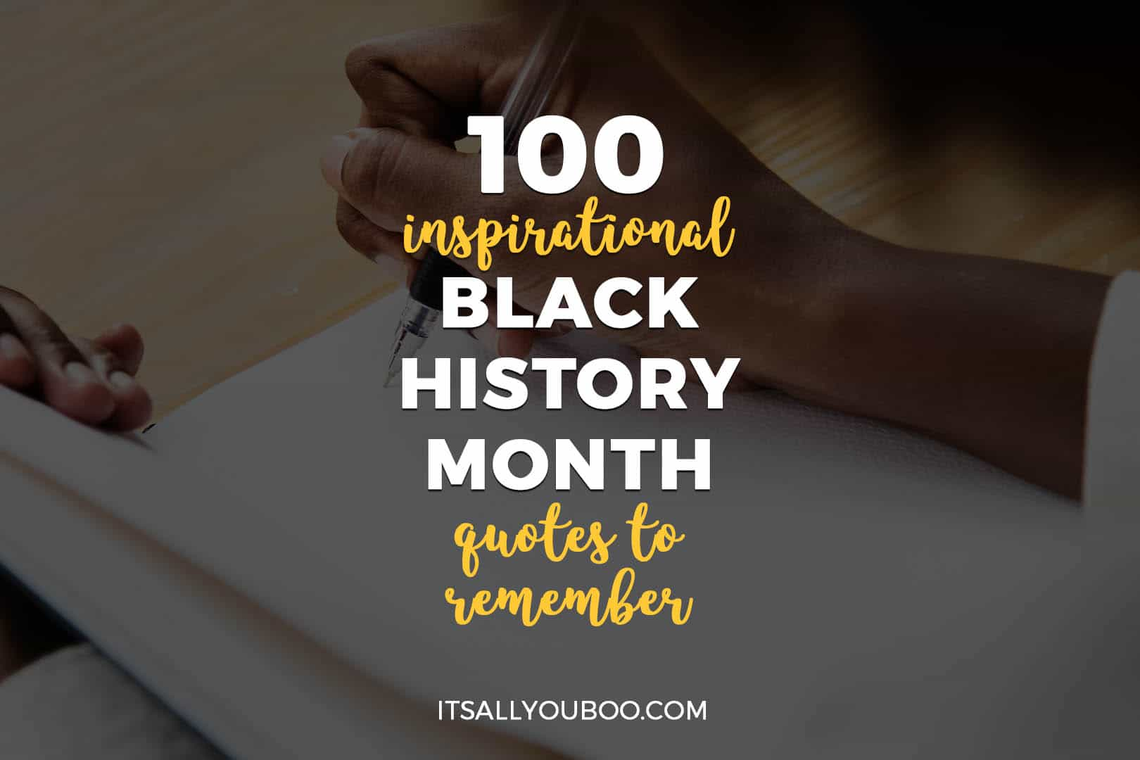 100 Inspirational Black History Month Quotes To Remember