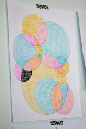 fun drawings easy circle kid coloring activity circles idea busy keep check them years