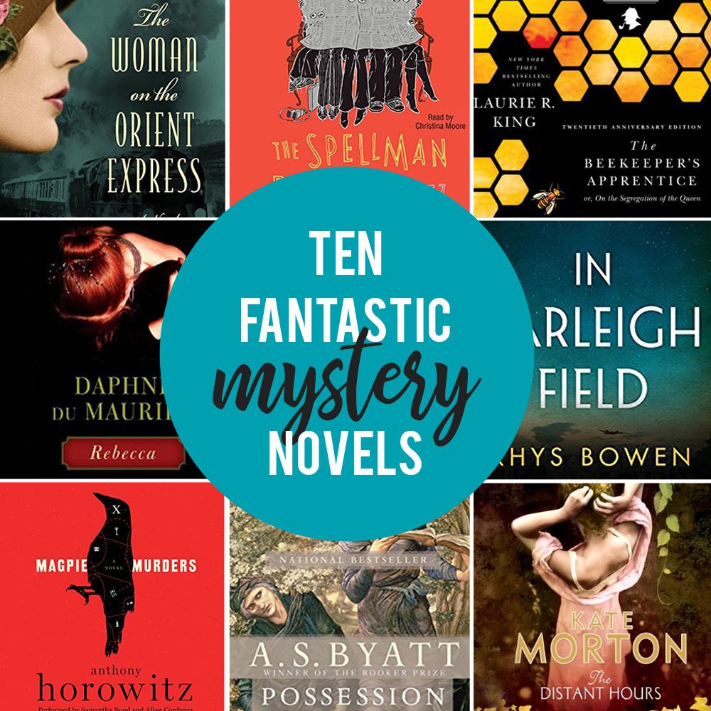 10 Best Mystery Novels (for People Who Don't Love
