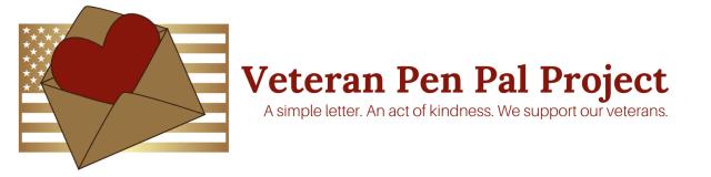 New Veteran Pen Pal Banner