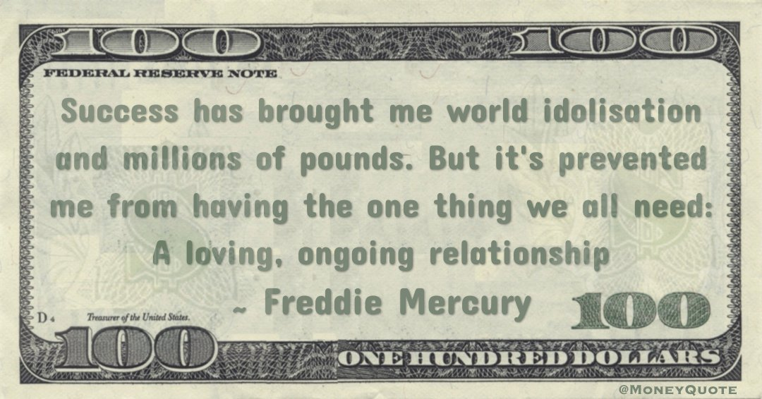 Quotes About Money And Relationships 66 Quotes