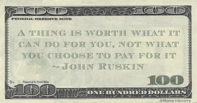 John Ruskin Quote