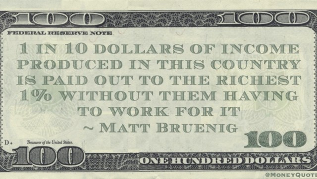 Matt Bruenig 10 Percent Paid Richest 1 Percent