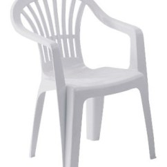 White Plastic Chairs Drop Leaf Table With Chair Arm Folded See 2 More Pictures
